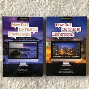 Photography Books : Adobe Photoshop + Lightroom